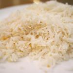ケララキッチン - インド米のガーリックライス