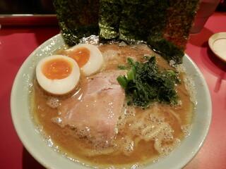 ラーメン 三七十家 - ラーメン(煮卵トッピング) ¥650+¥100