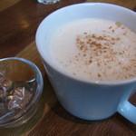 J.S. PANCAKE CAFE  - チャイ(ランチセット)2014年1月21日ジェイエスパンケーキカフェ MARK IS みなとみらい店