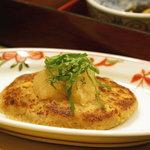 さんるーむ - メインの豆腐ハンバーグ