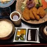スエヒロ - ヒレカツ定食