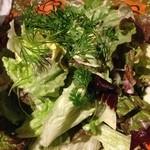 23871800 - ナッツとスモークチーズのグリーンサラダ