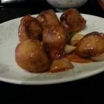 龍鳳飯店 - ランチの酢豚