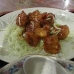 龍鳳飯店 - ランチのエビチリ