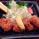 キッチン たくま - ヒレかつ定食  \1150