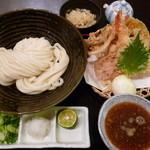 瀬戸内製麺710 - 生醤油うどん&いろいろ天ぷらトッピング(H26.1.22)