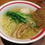 麺屋 空海 - 空海味玉そば  塩  830円