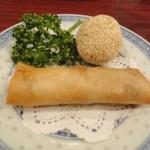 東栄酒家 - 飲茶セットー1