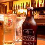 栞  - ホッピー、焼酎、日本酒…呑ん兵衛にはたまらないお店☆立ち飲みスタイルも大人気!