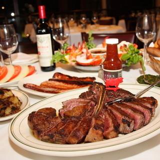 品質、熟成、焼きにこだわった極上ステーキをご賞味ください。