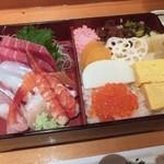 品川駅前すし処 藤寿司 - にしきちらし1.5人前1,250円