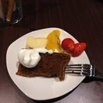 KORO Cafe - 女子会ならシメはやっぱりコレですね~♪ ふわっふわのシフォン