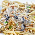 キッチン・テラス ココニール - 牡蠣のスパゲティビヤンコ