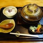 里の茶屋 - 鴨鍋膳