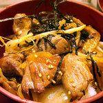 まるごと北海道 - 「生ラムジンギスカン丼」