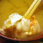 まるごと北海道 - 「生ラムジンギスカン丼」てっぽう汁