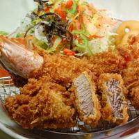 ママン - 海老ヘレ」定食¥1780-
