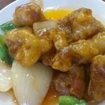 龍江飯店 - 酢豚