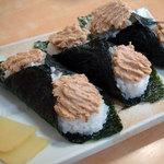らーめん むすび家 - 肉マヨ300円