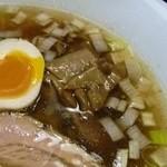 信濃神麺 烈士洵名 - エリンギのメンマ