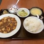 上海厨房 玲玲 - 麻婆豆腐定食(201312)