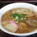 ふけた食堂 - ラーメン(450円)