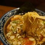 麺屋しらかわ - 相変わらず美味いと言える高山ラーメン(2014.1.23)