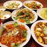 湯火功夫 麻辣湯 - コース料理(一例です。他にも料理付きます。)