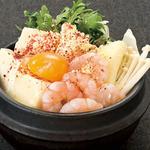 韓豚屋 - 【おすすめ】女性に大人気!! ぷりぷり海老とチーズの純豆腐