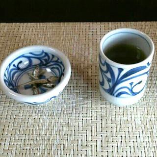 和ゃではお茶と一緒に「いりこ」をお出ししております。