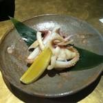 石慶 - ゲソ塩焼き
