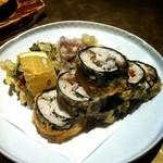 石慶 - 鰆梅肉巻き揚げ