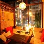 AKARI EN - 夜景を眺めながらゆったり過ごせる個室です。デートや女子会にオススメです♪