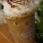 ゴディバ - ドリンク写真:ダークチョコレートトリュフカプチーノ