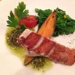 鉄板料理 八天 - 魚介と安納芋