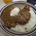 カレーハウスCoCo壱番屋 - OptioA30:9月5日(水)ハンバーグと半熟卵