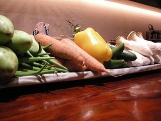 山人 - 出番を待つ野菜たち