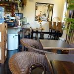 ホヌハレカフェ - テーブル