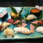 万楽寿し - 料理写真:特上寿司