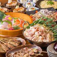一翠 - ご宴会プランは2種類。飲み放題込4000円。