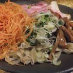 ラーメンヨシベー - お魚つけ麺 アップ♪