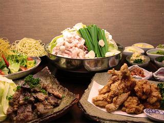 かんべえ - ★コース(もつ鍋)のお料理内容です!