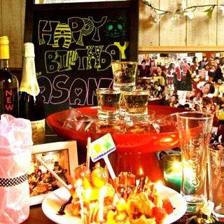 5大特典付き☆PARTYコ―ス♪ 歓送迎会・誕生日・記念日に◎ 2H飲放付&コースが選べて3500円