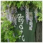 田舎茶房 野の花 - 看板(≧∇≦)
