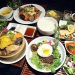 テイストシックス - 2/3よりランチメニューがリニューアル☆選べる5つのランチは野菜を食べて元気になる栄養満点ランチ♪