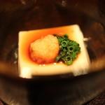 有いち - 真鱈の白子豆腐