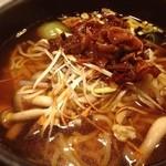横濱 一品香 - 料理写真:期間限定 牛スジ煮込み麺 うーん、、、イマイチか、、、