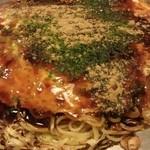 こな - 広島風肉玉そば(690円)