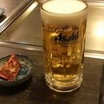 こな - 生ビール(450円)