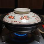 黒川荘 - お鍋でぐつぐつ煮込みます。